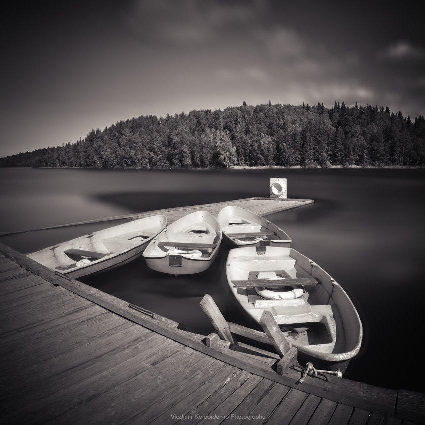 соловки, соловецкий архипелаг, причал, озера, лодка, Kolebidenko Vladimir