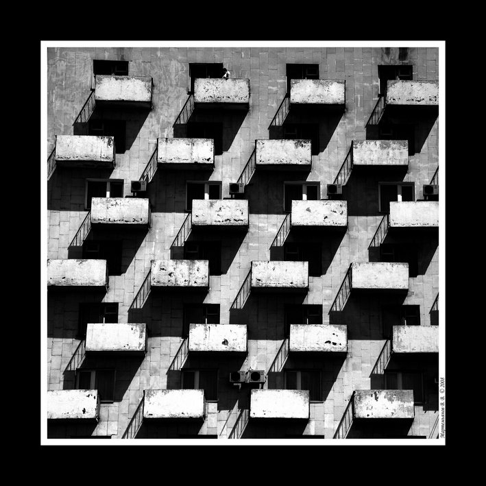 архитектура, черно-белый, шарада, Валерий