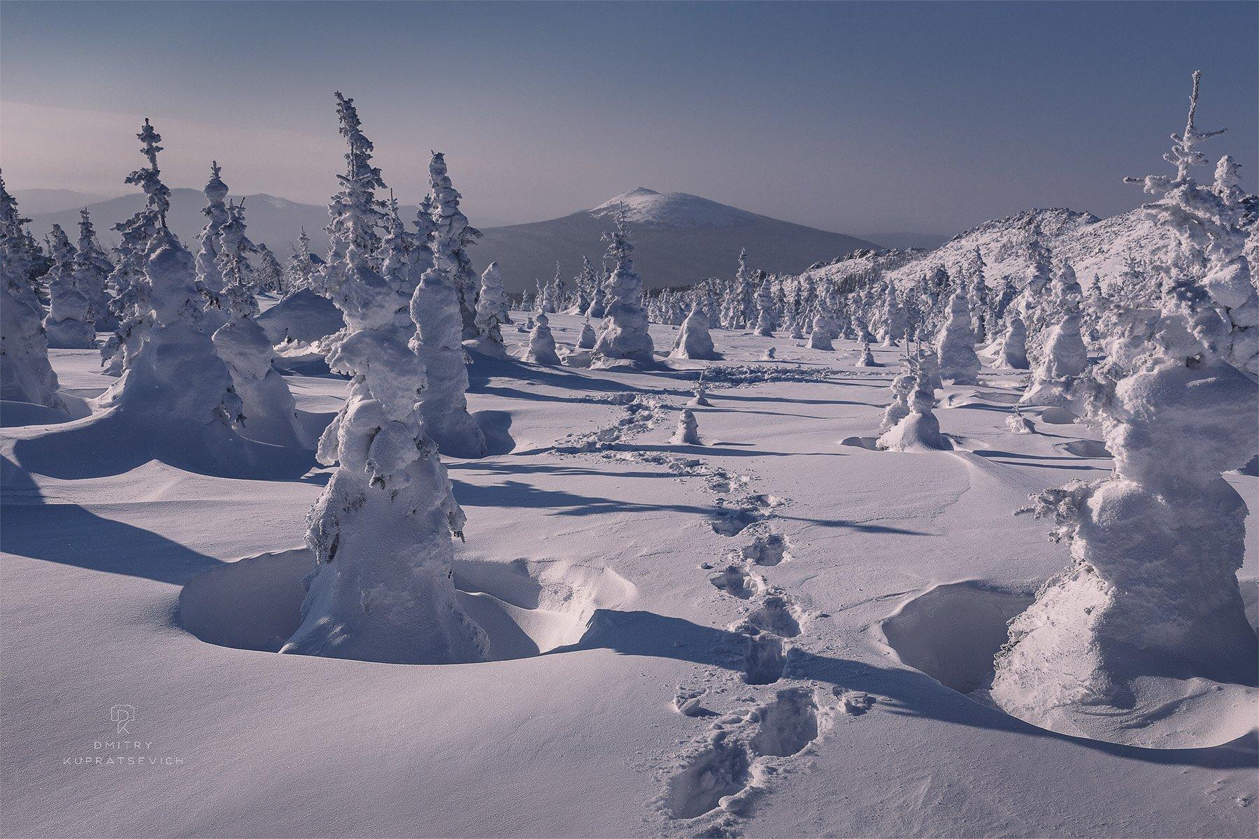 урал, таганай, природа, пейзаж, зима, снег, горы, Купрацевич Дмитрий