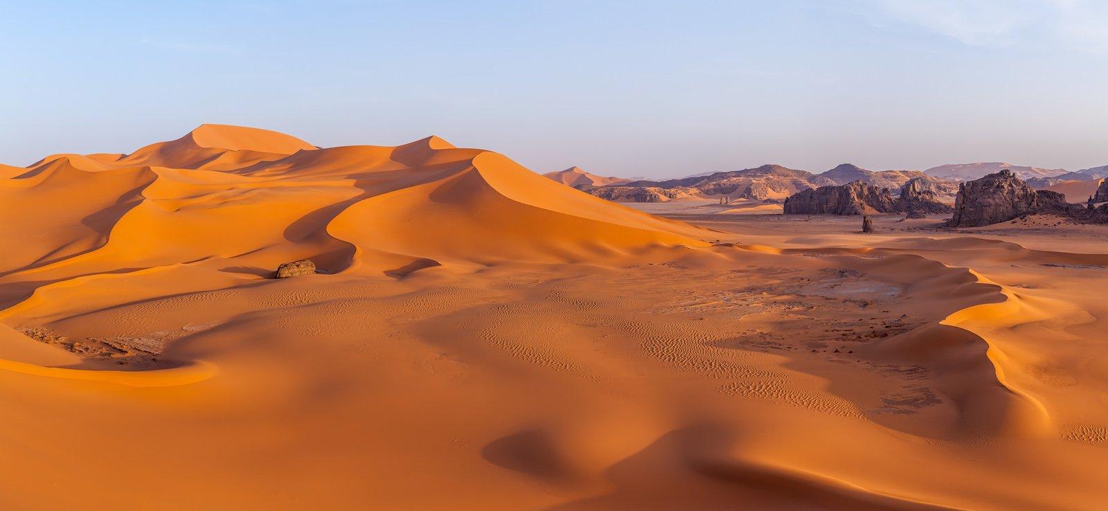 Сахара, Тадрарт, Алжир, дюна, барханы, пустыня, Африка, Арсений Кашкаров