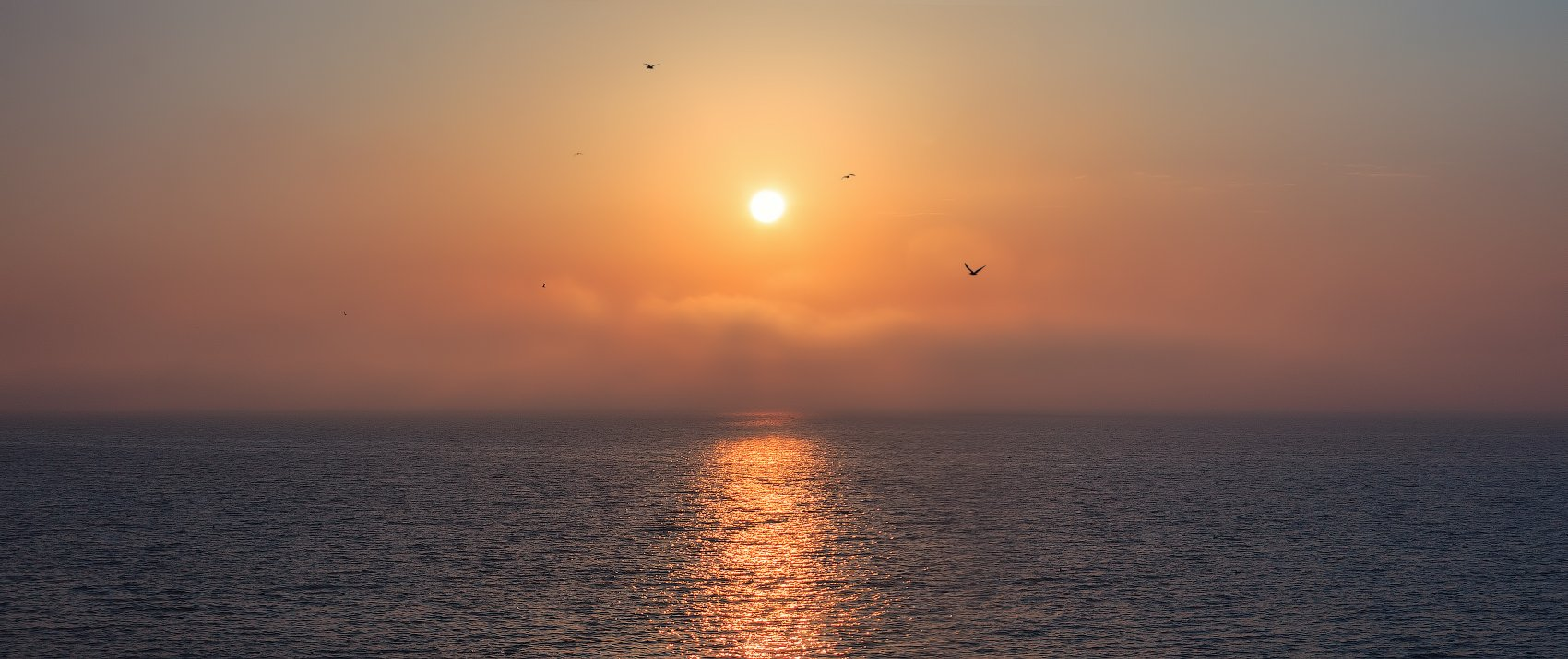 рассвет, солнце, море, геническ,, Сергей Шабуневич