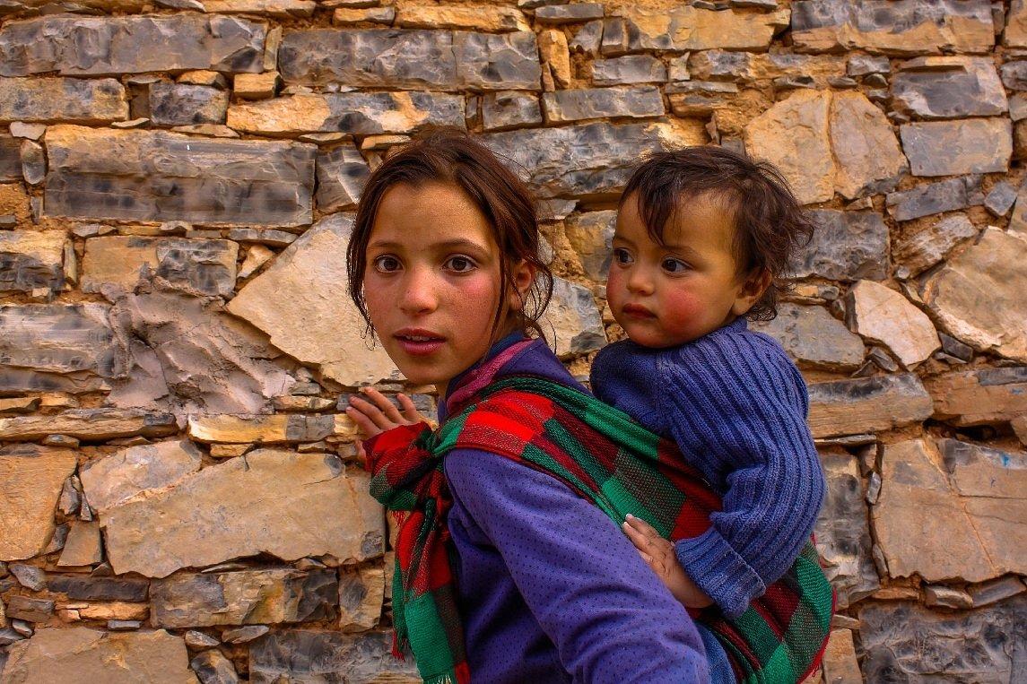 Children Morocco Africa, František Uhler
