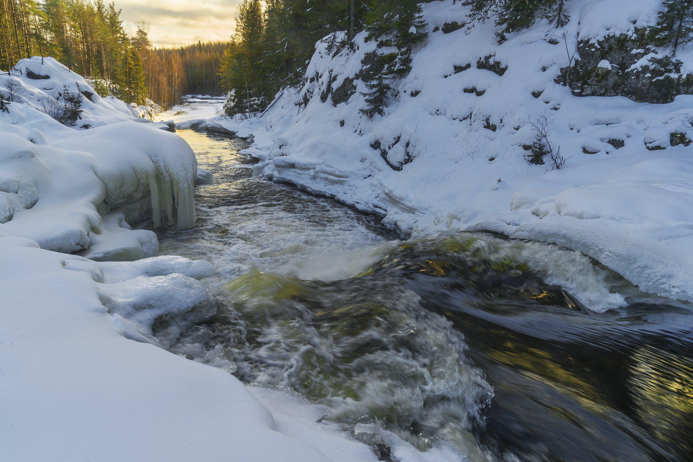 Карелия, водопады, Владимир Рябков