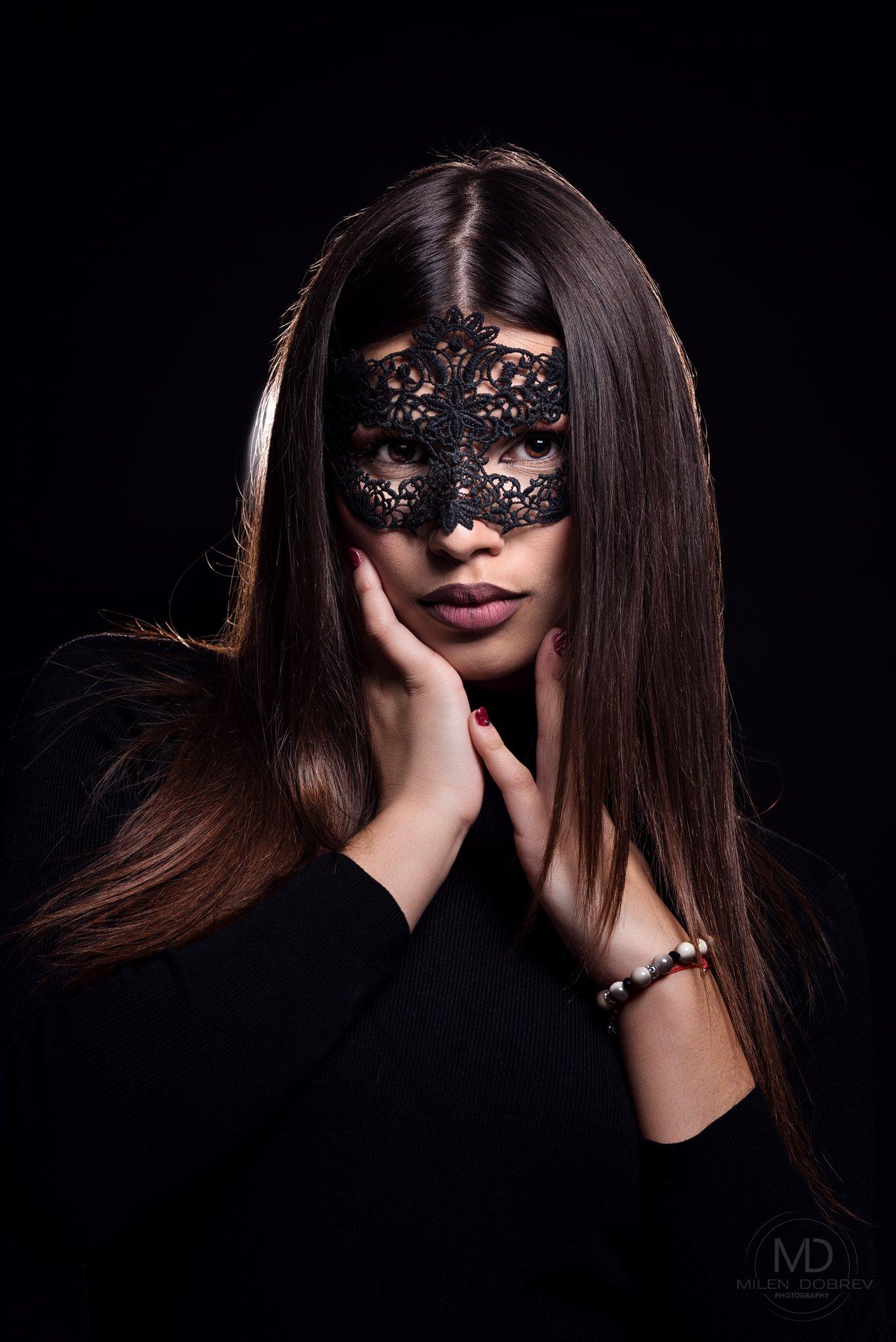 model, mask, beauty, Милен Добрев