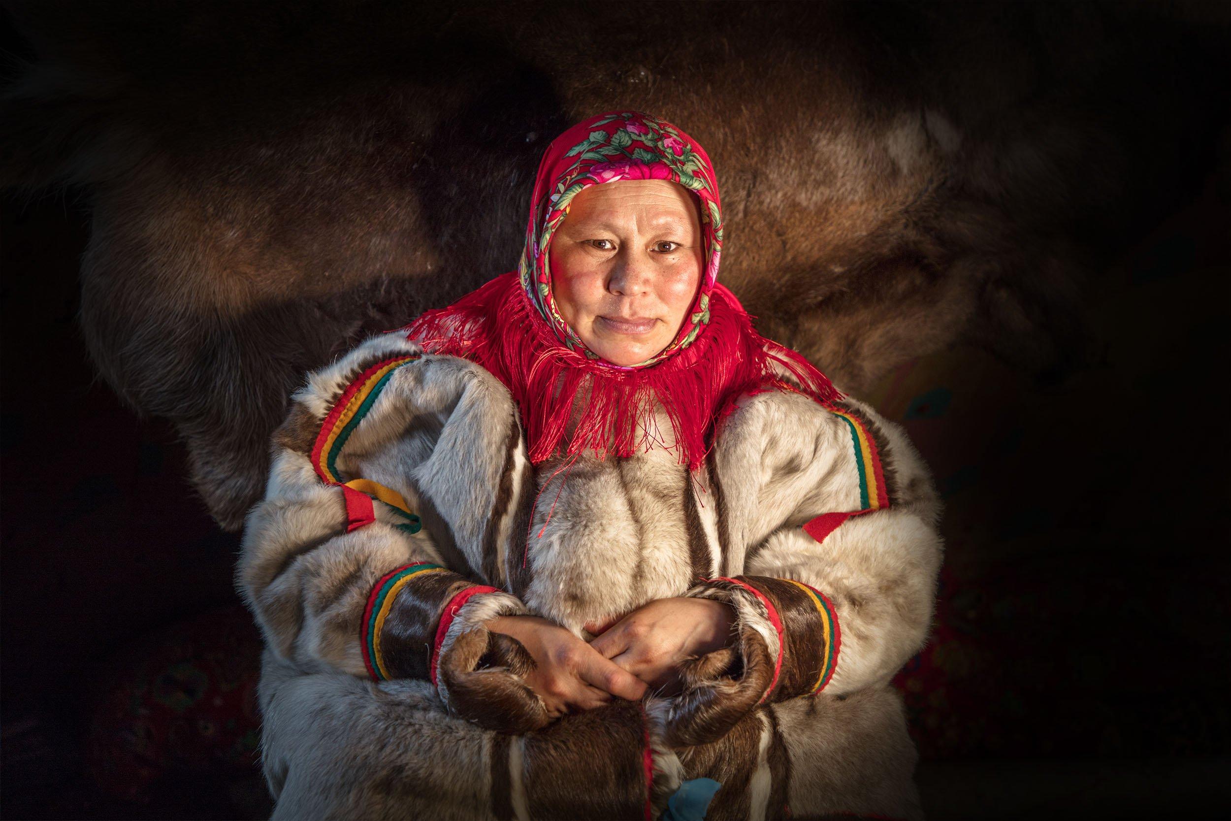 Ямал, ненецкая женщина, , Алексей Сулоев