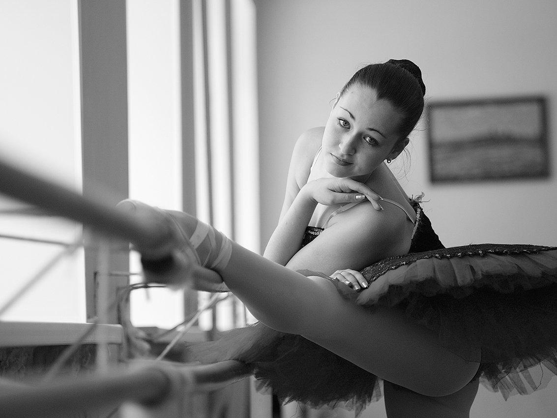 балерина, девочка, Клековкин Александр