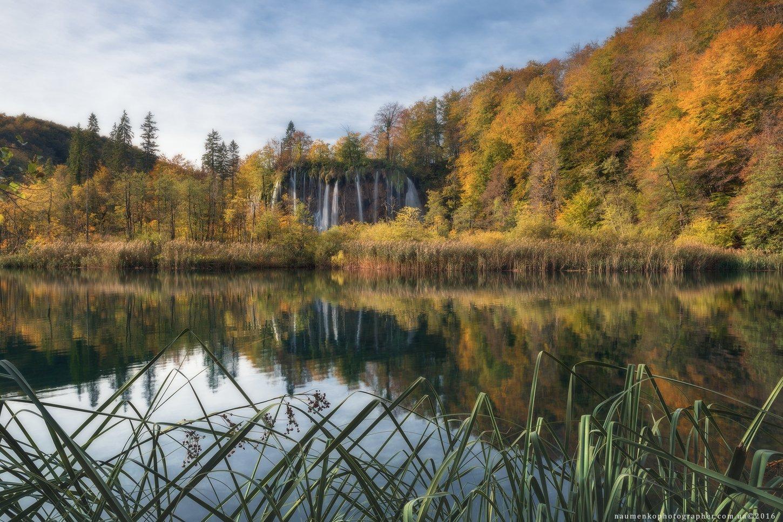 плитвица, озера, парк, осень, национальный, хорватия, водопад, пейзаж, озеро, природа, вода, европа, красивый, лес, зеленый, каскад, ручей, путешествия, пруд, река, туризм, синий, естественный, окружающая, среда, камень, красота, дерево, живописный, чисты, Александр Науменко