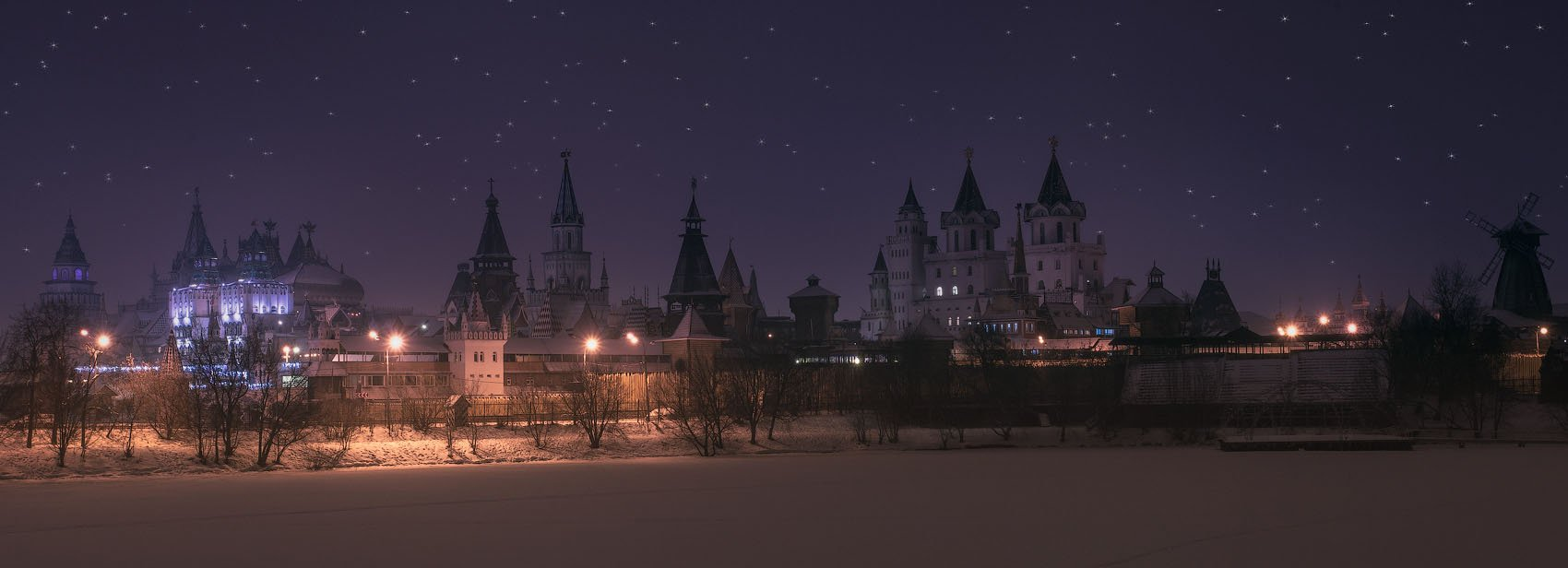 Январь, Москва, Измайлово, Вечер, Андрей Леонидович