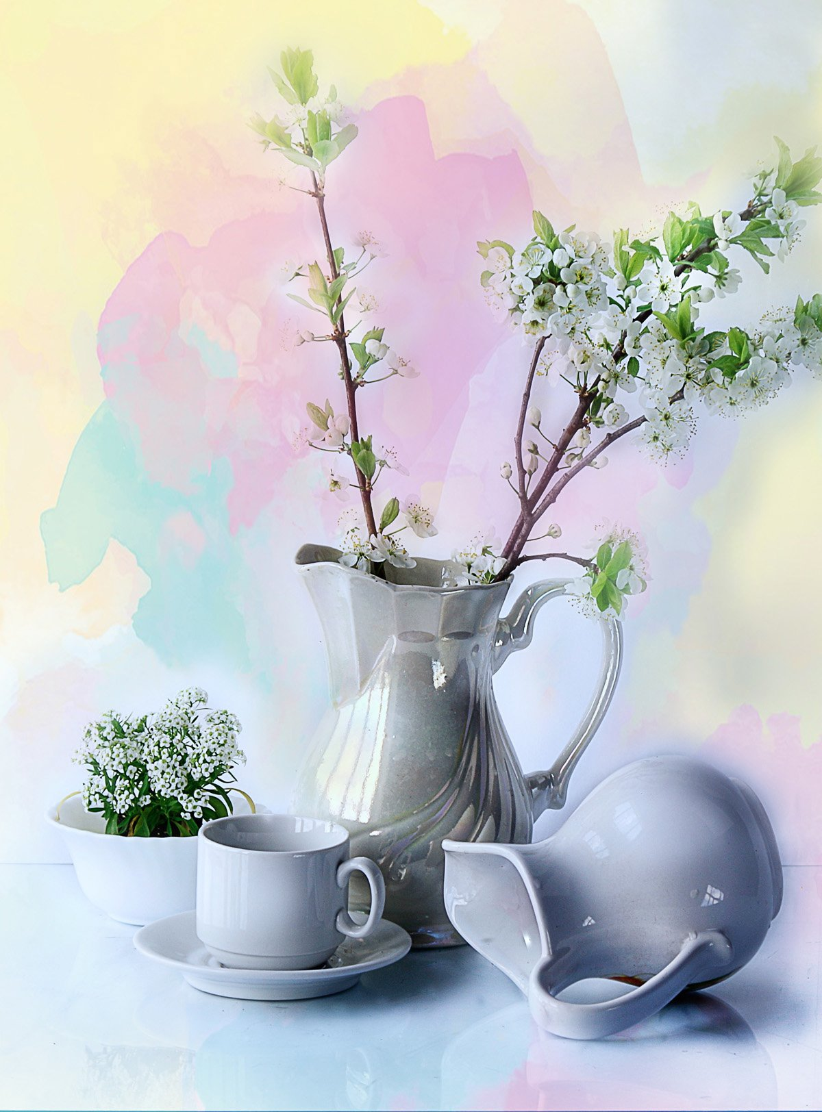 цветы , весна ,, Вера Павлухина
