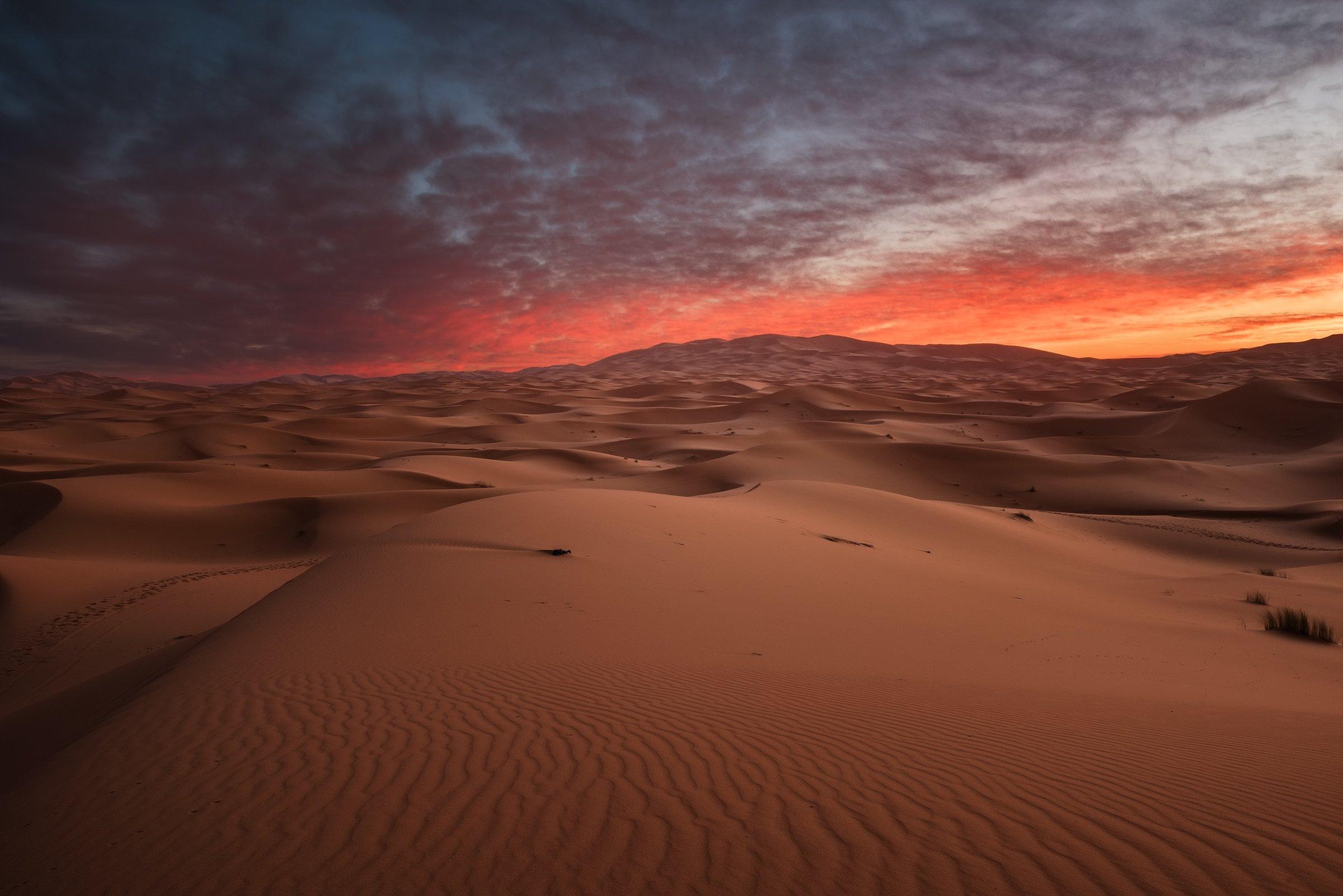 Сахара, Мерзуга, пустыня, Сергей Ершов