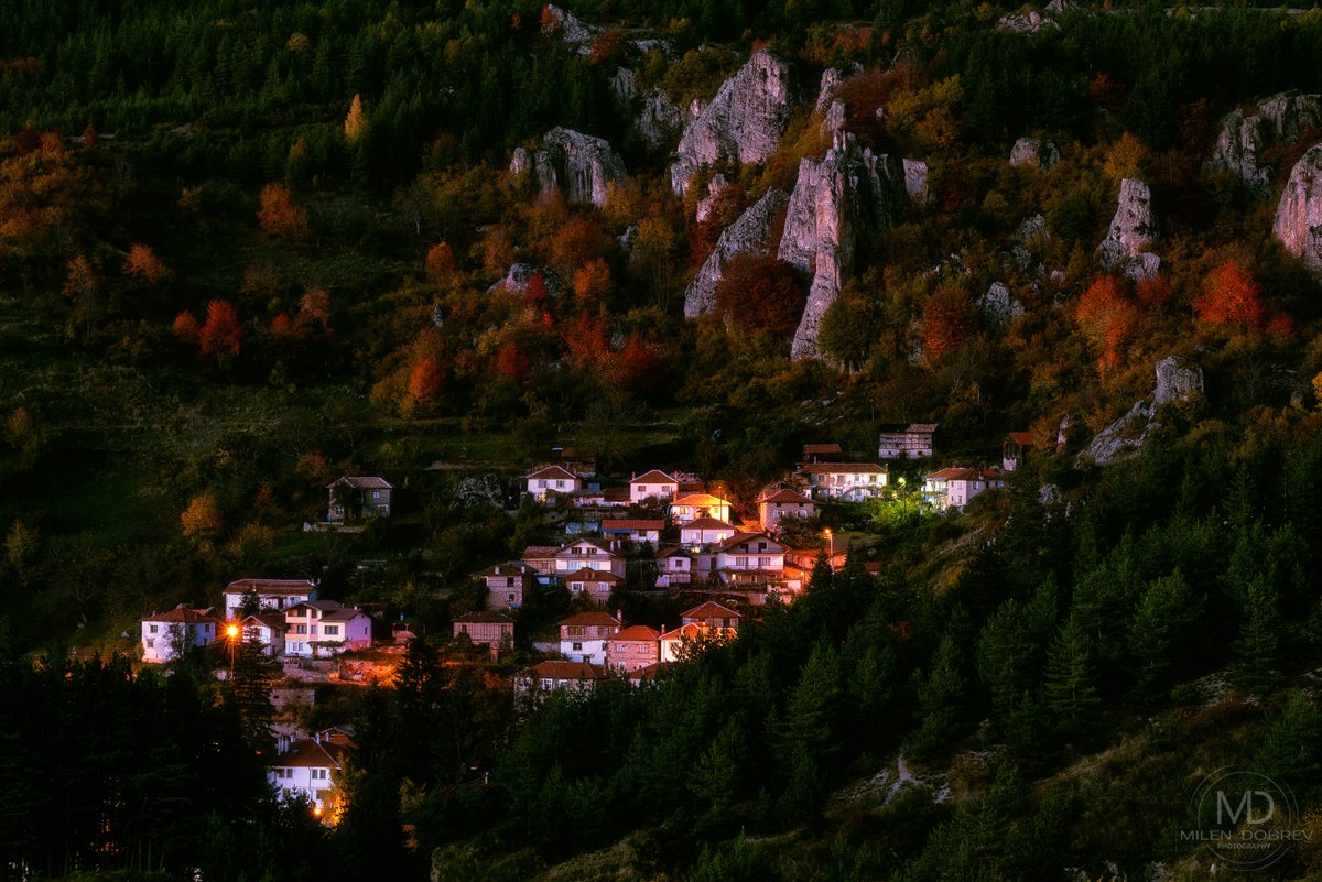 Bulgaria, village, Rhodope, mountain, Милен Добрев