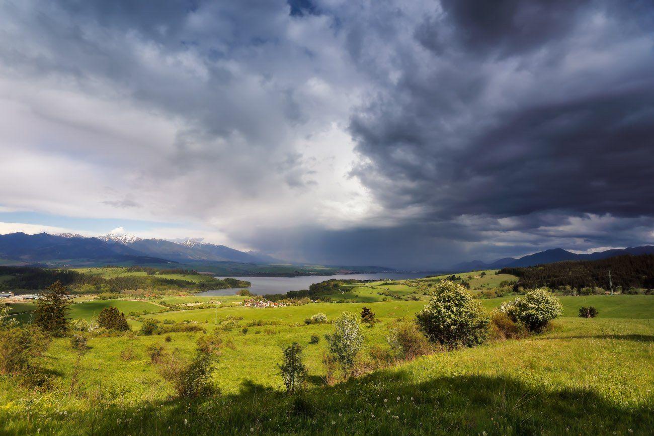 словакия весна май горы татры дождь гроза, Вейзе Максим