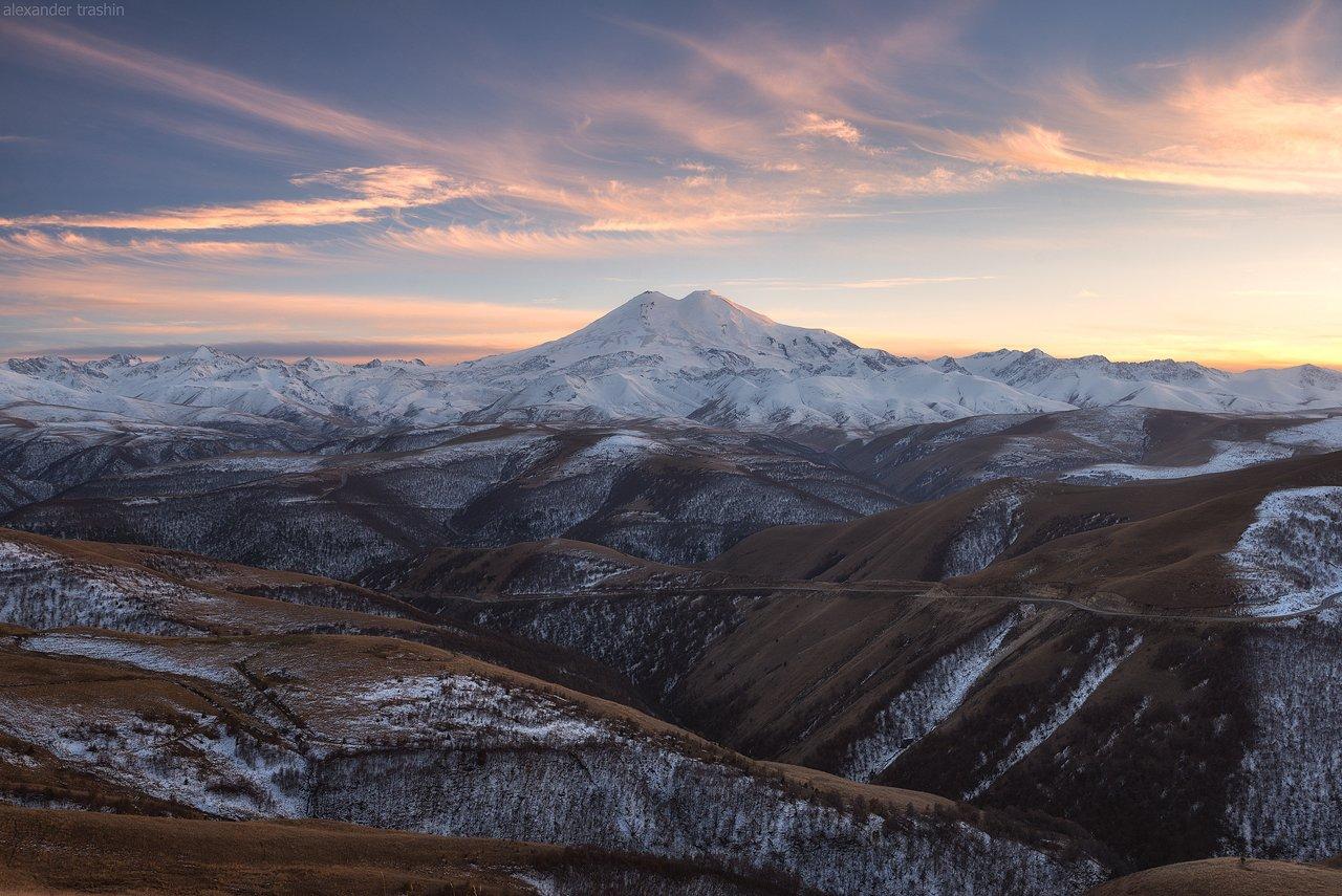 эльбрус, северное приэльбрусье, пейзаж, кавказ, северный кавказ, Александр Трашин