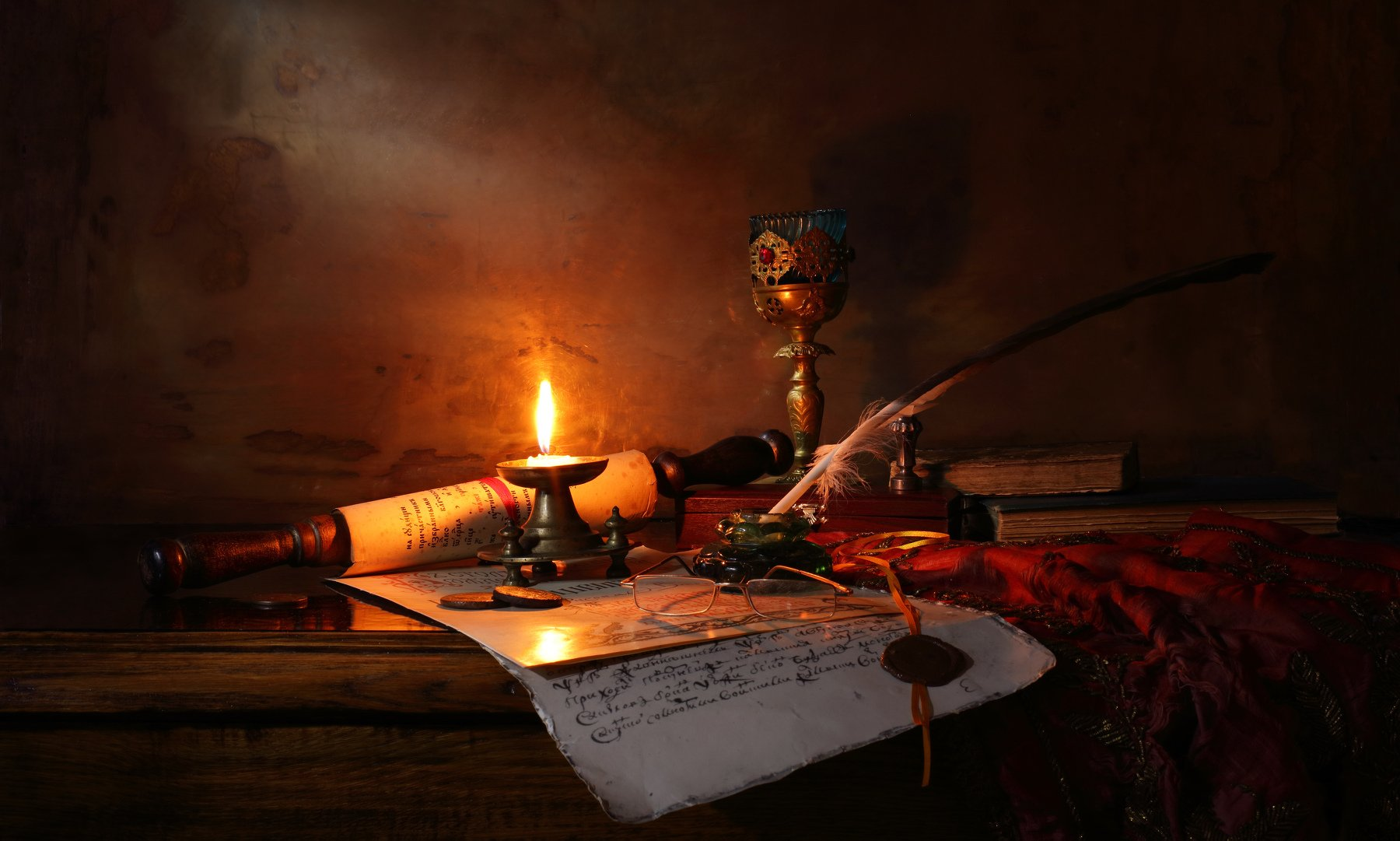 свиток, свеча, история, книги, Андрей Морозов