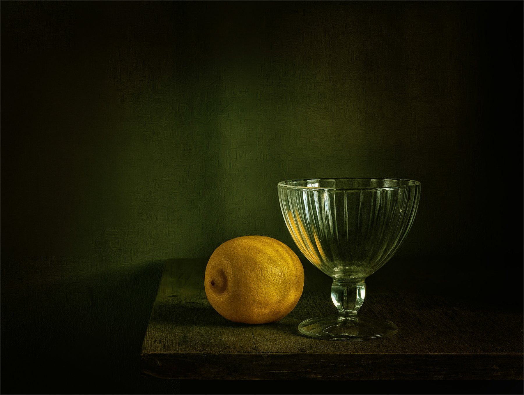still life, натюрморт, креманка, стекло, посуда, лимон, цитрусовые, еда, минимализм, винтаж,, Михаил MSH