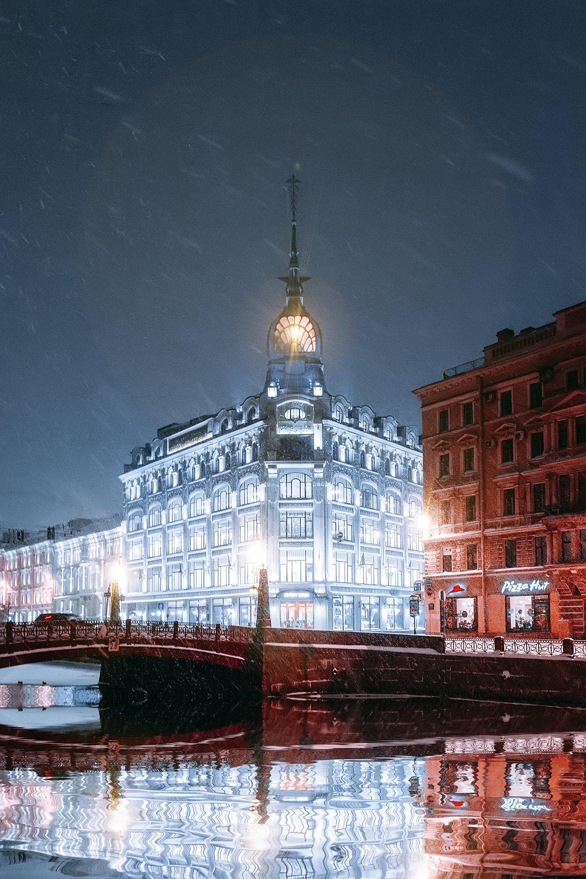 spring, russia, snow, спб, весна, снег, city, sky, небо, город, архитектура, Andrei Mikhailov
