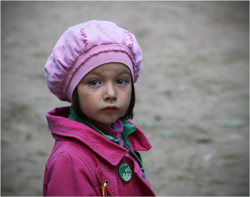 девочка, парижанка, взгляд, ребенок, дети, Olga Panteleeva