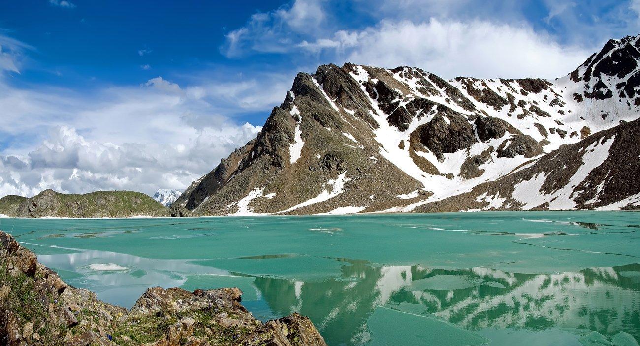 кавказ, приэльбрусье, сылтранкель, озеро, горы, Максим Рогозин