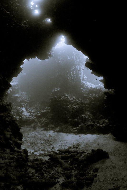 пещера, вода, свет, подводная съемка, Natalia Semko