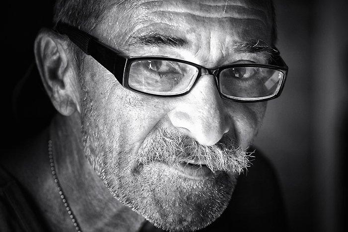 мужчина, портрет, взгляд, очки, vladimirvolkhonsky