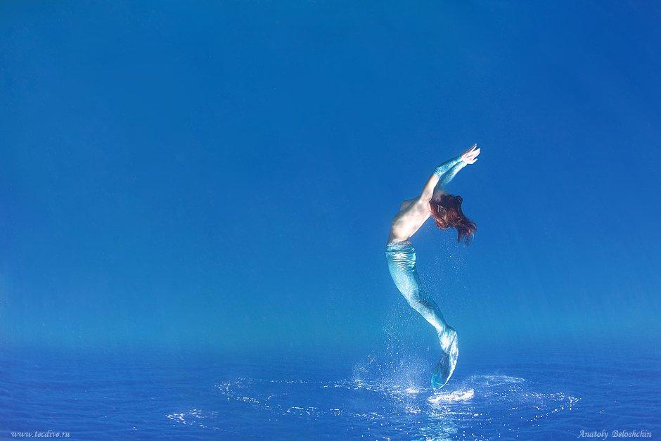 red, sea, anatoly, beloshchin, underwater, nude, &, fashion, анатолий, белощин, русалка, mermaid, Anatoly  Beloshchin