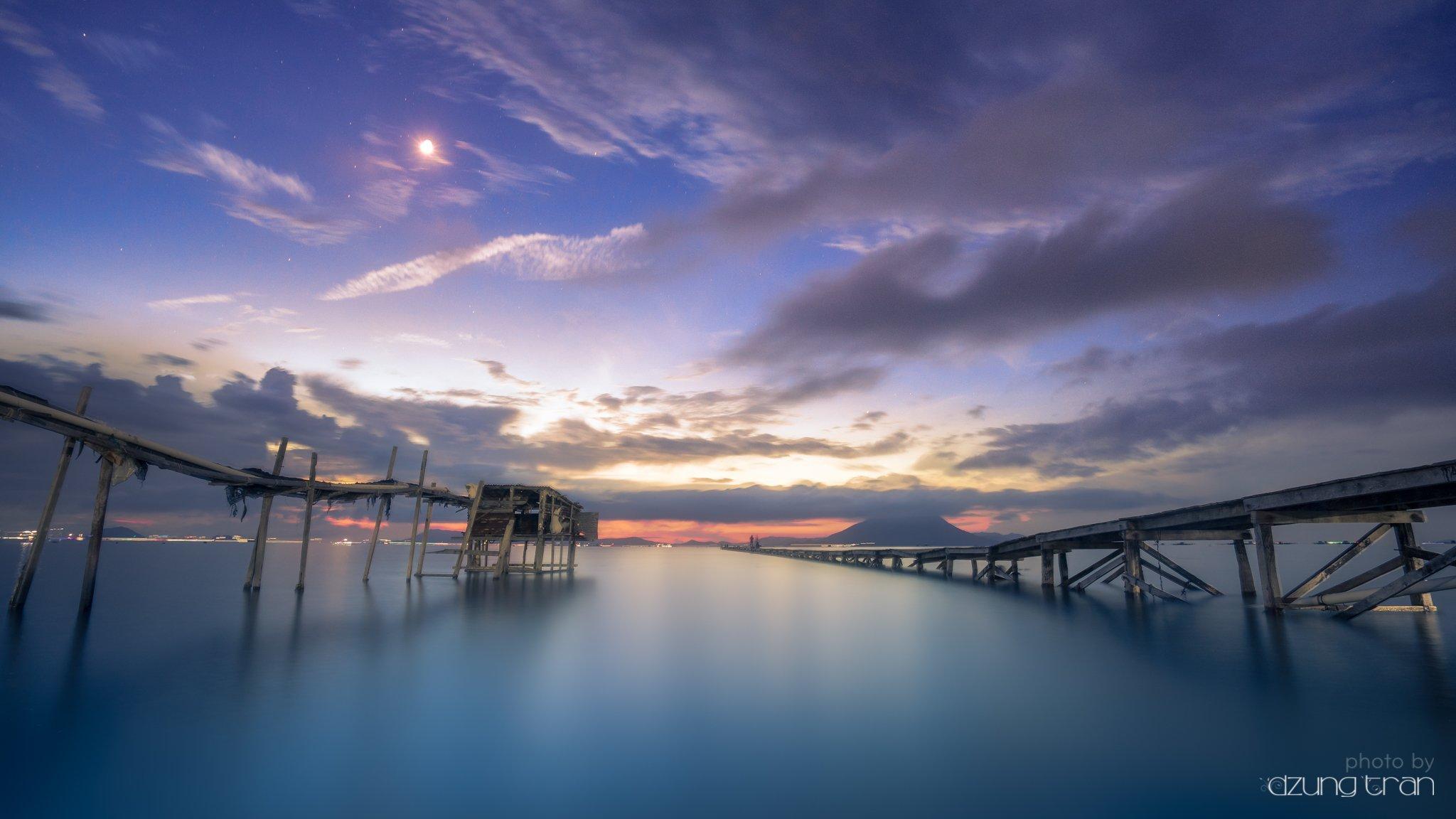 #seascape #smooth #longexposure #pearl #bridge, Dzung Tran