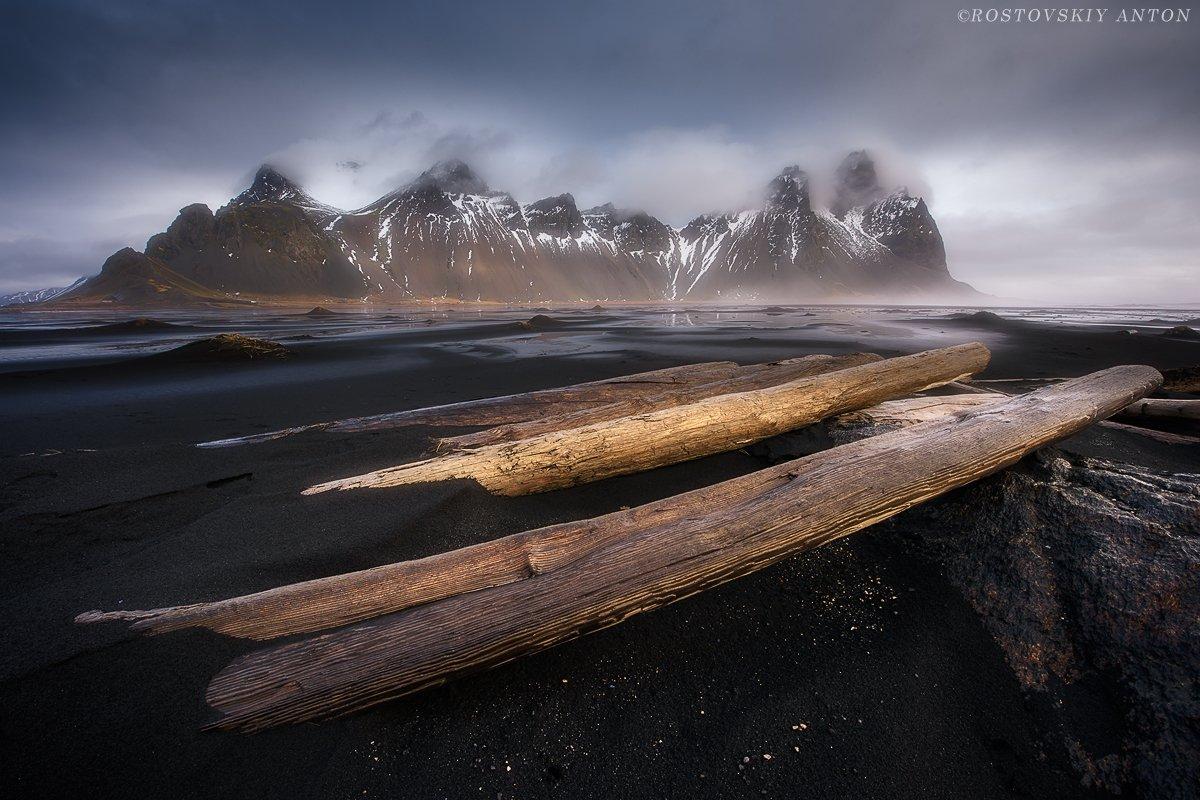 Исландия, Iceland, Stokksnes, Антон Ростовский