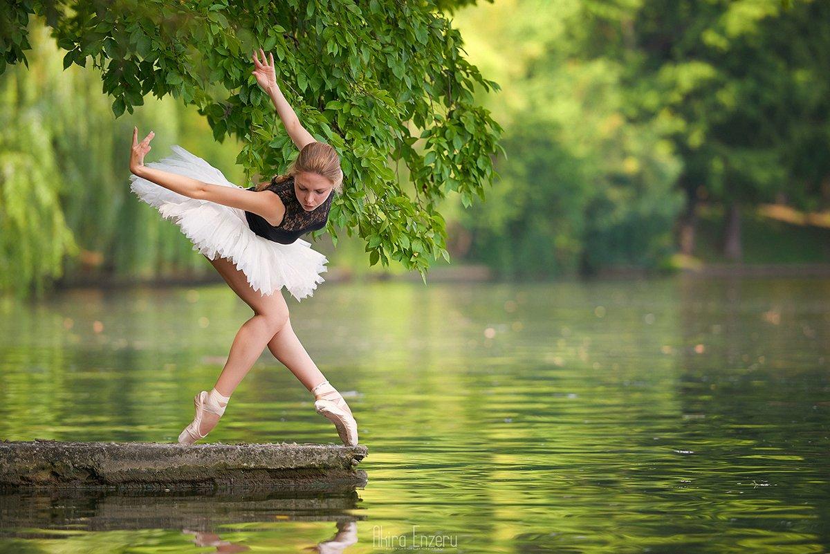 ballerina, ballet, dance, dancing, portrait,, Akira Enzeru