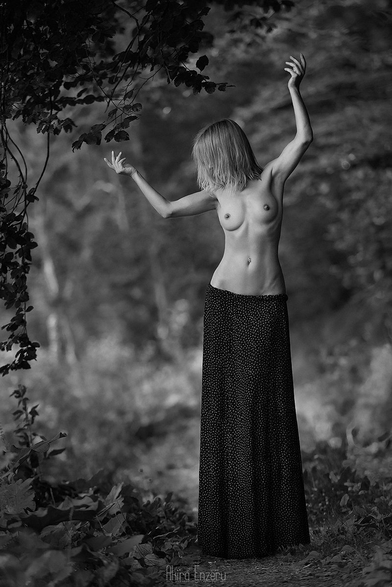 nude, portrait, Akira Enzeru