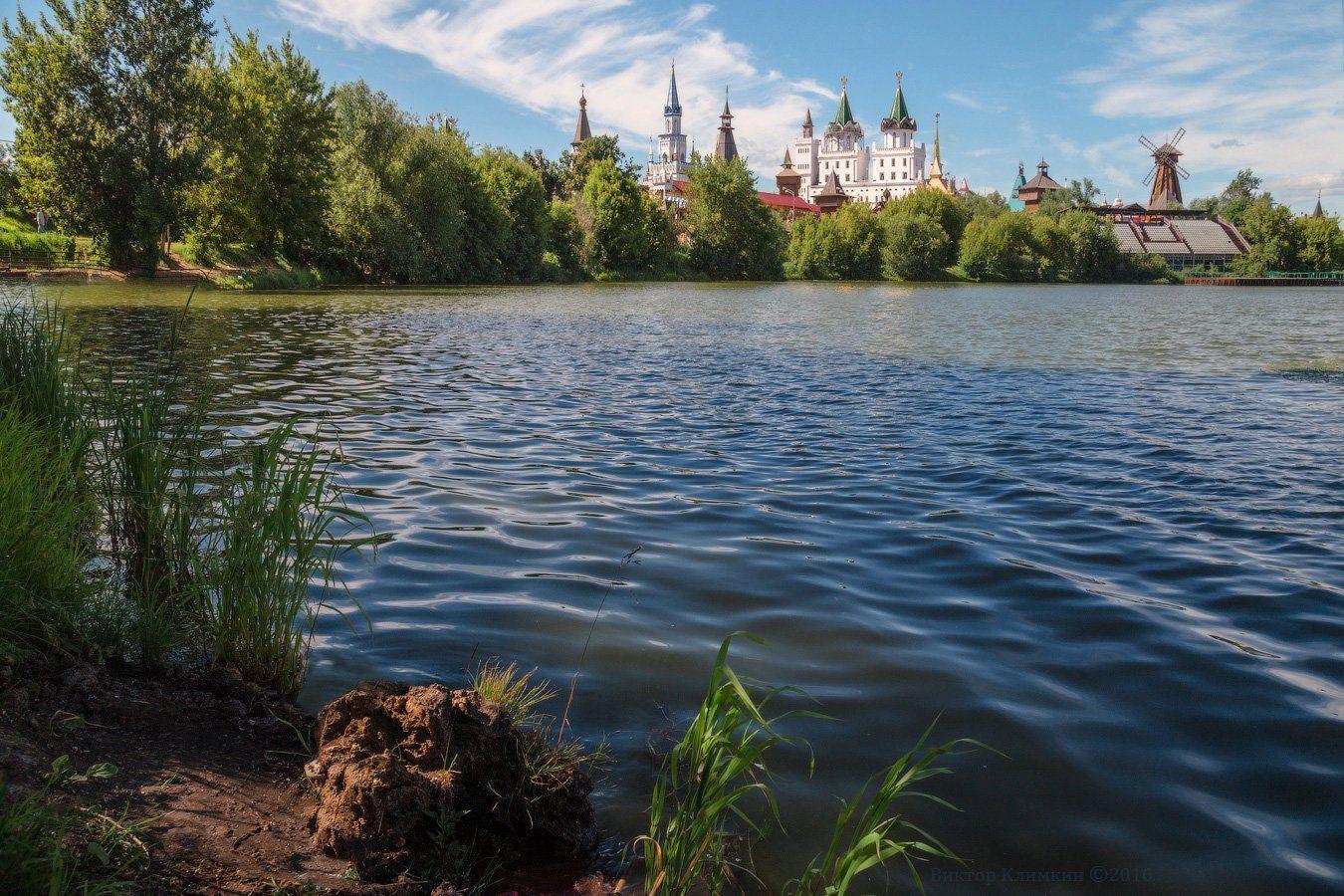 москва, россия, кремль, измайлово, пруд, Виктор Климкин