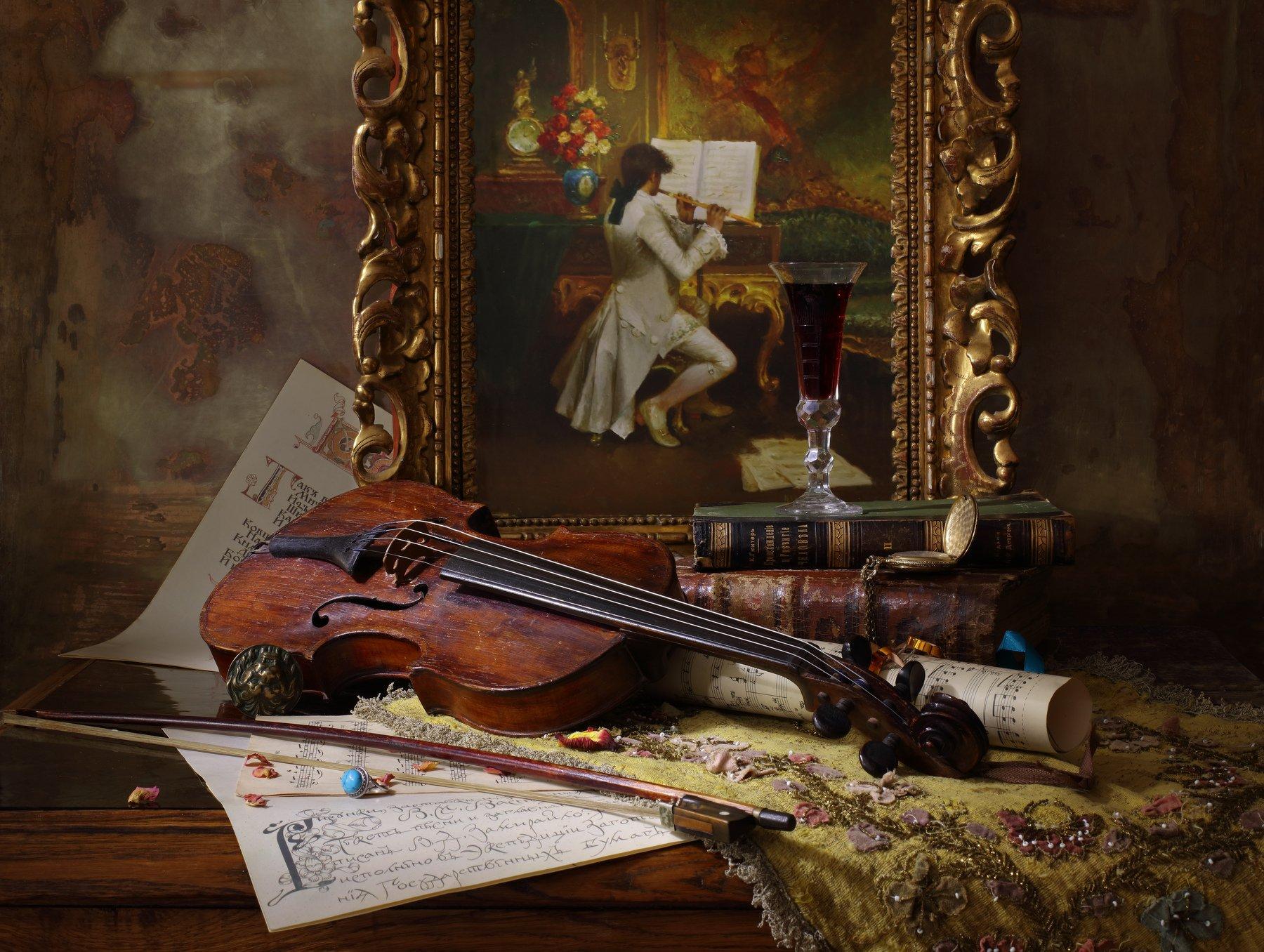 скрипка, музыка, картина, история, книги, Андрей Морозов