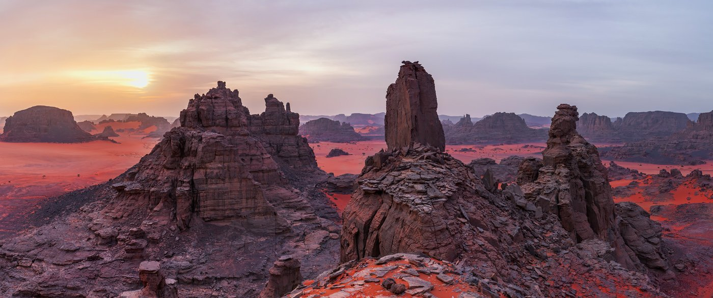Алжир, Тадрарт, пустыня, Сахара, Марс, , Арсений Кашкаров