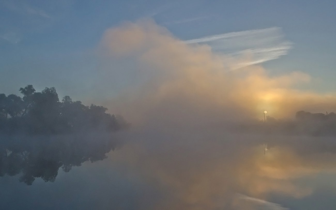 утро рассвет природа пейзаж, Михаил Агеев