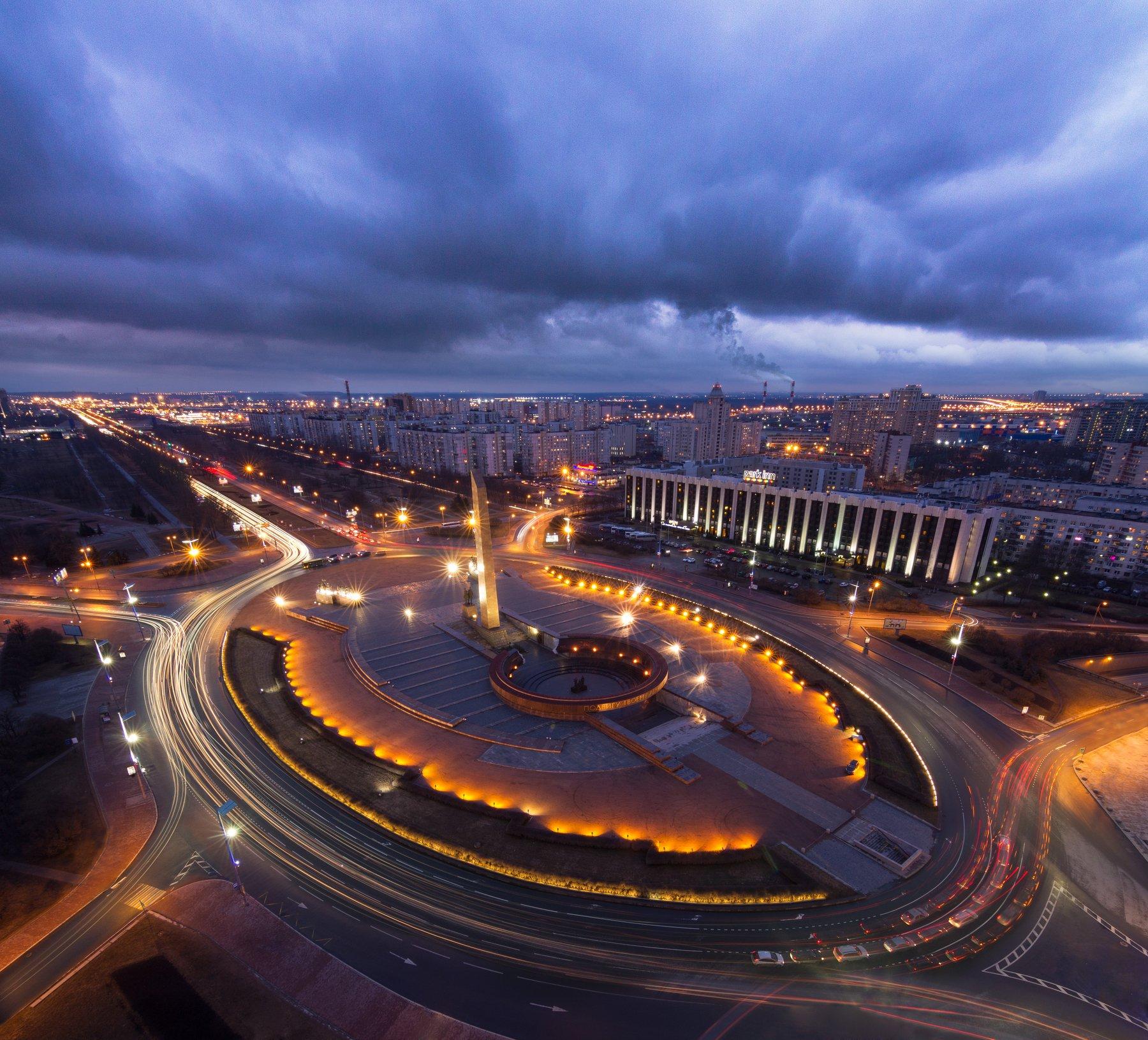 крыша, urban exploration, Санкт-Петербург, пейзаж, Голубев Алексей