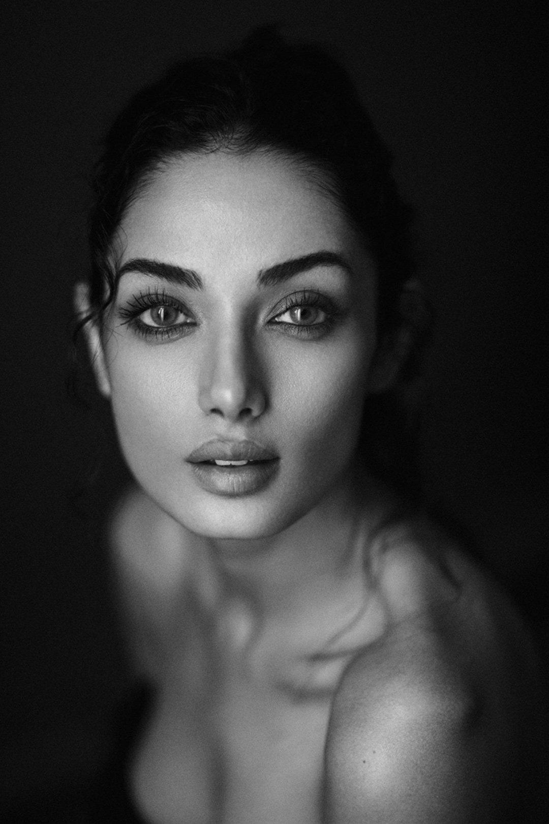 portrait  girl art bw soul deep look eyes iranian girl babakfatholahi, Babak Fatholahi