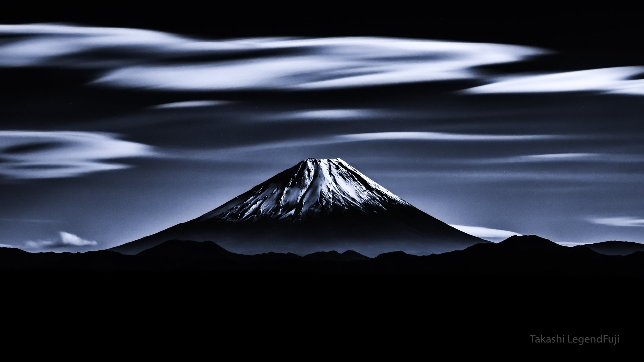 Fuji,mountain,Japan,clouds,landscapes,beautiful,amazing,sky,blue,, Takashi