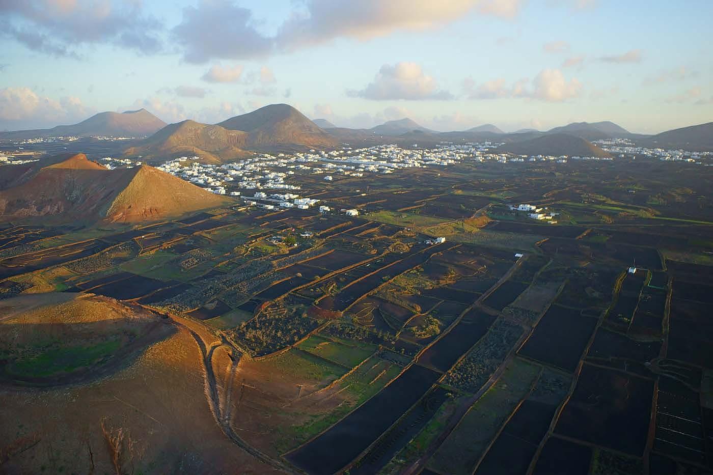испания, лансароте, канарские острова, канары, вулканы, аэро, aerial, Борис Резванцев