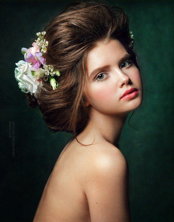 #girl, #flower, #floral, Меньтюгова Наталья