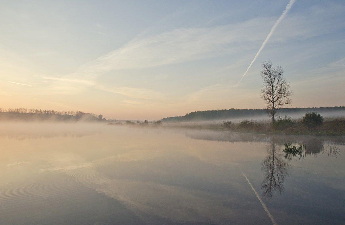 утро рассвет пейзаж природа, Михаил Агеев