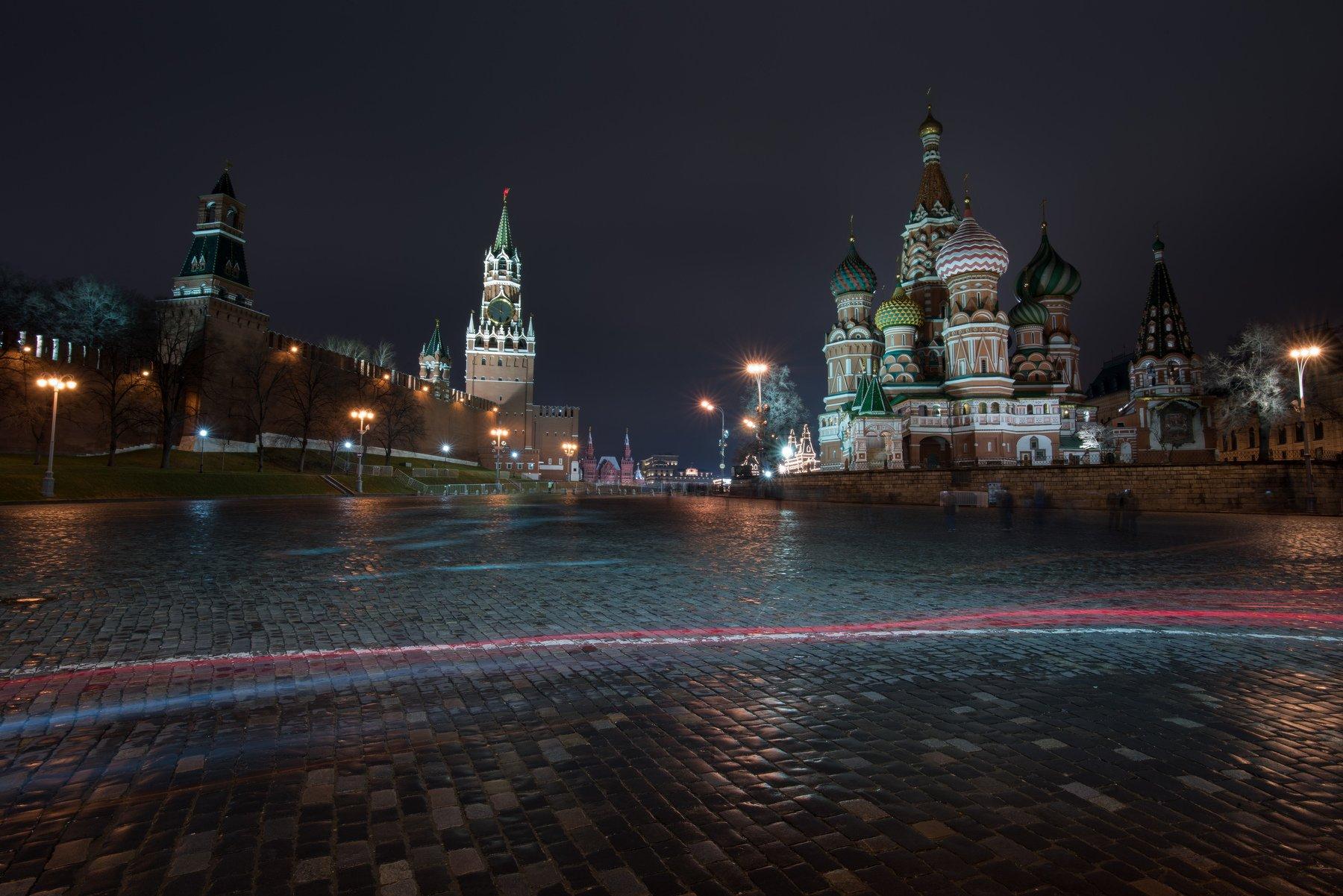 красная площадь, кремль, ночь, никон, москва, россия, никон, nikon, russia, moscow, kremlin, long exposure, red square, city, nighty, vgundarev