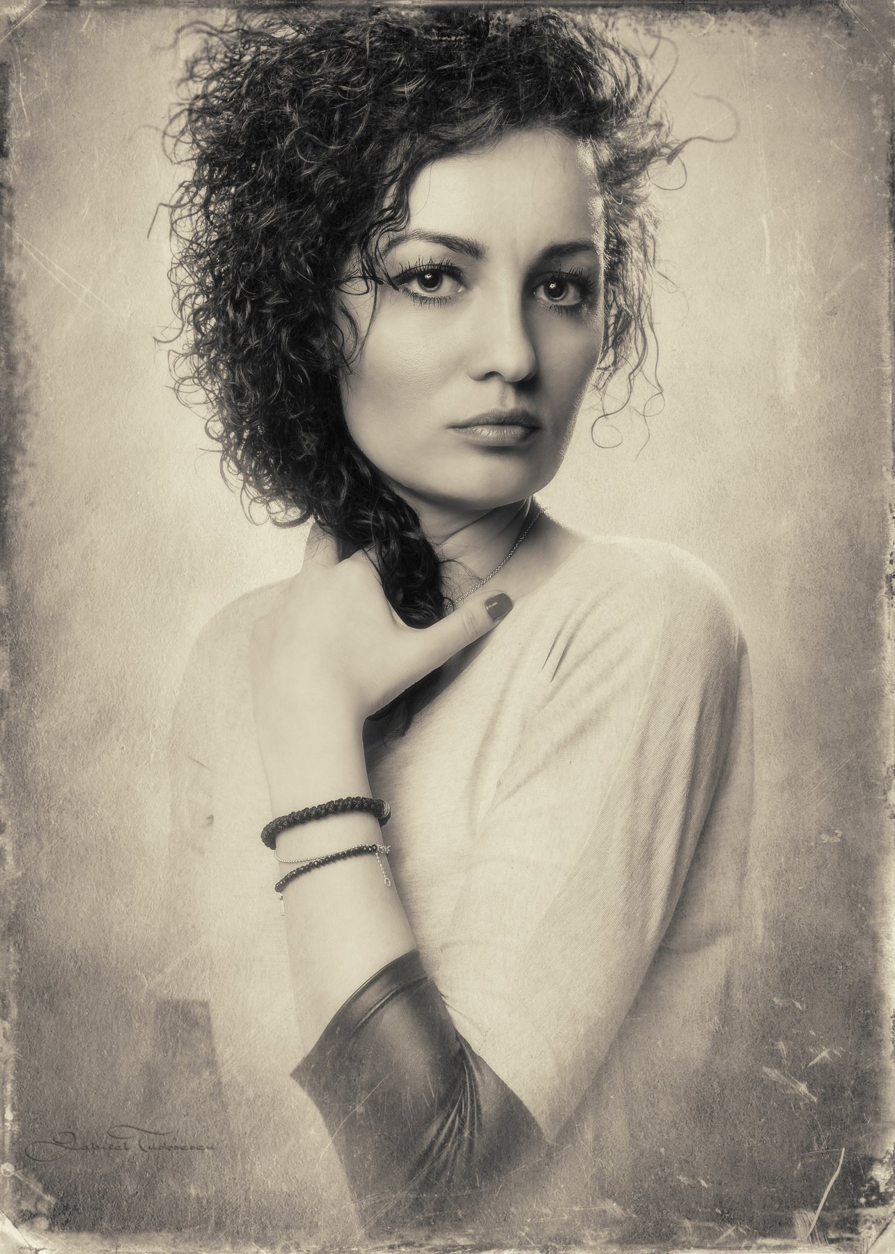 portrait, Gabriel Tudosescu EFIAP