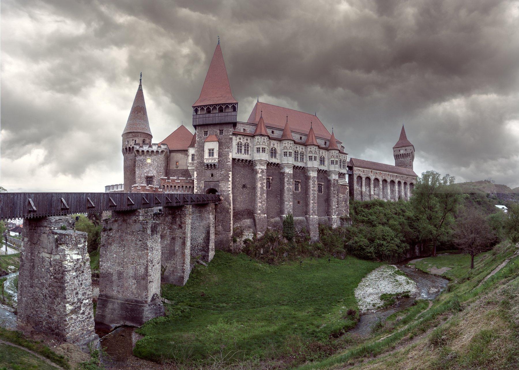 замок корвинов , castelul corvinilor,  vajdahunyadi, трансильвания, хунедоара,злаште., Виктор