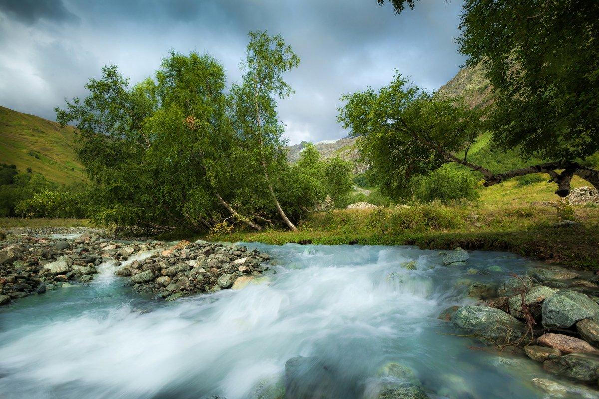 софийские водопады, архыз, карачаево-черкесия, кавказ, Копычко Михаил