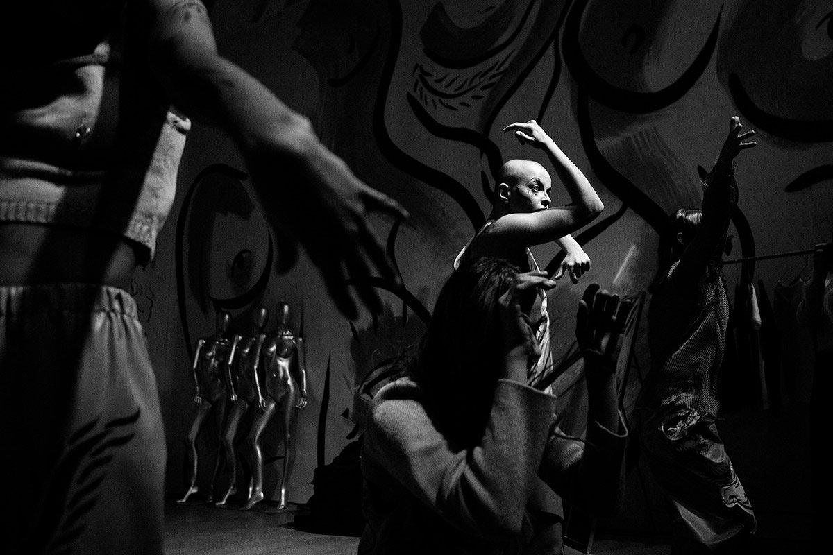чб, танцоры, fashion, черно белое, репортаж, Григорий Пузынин