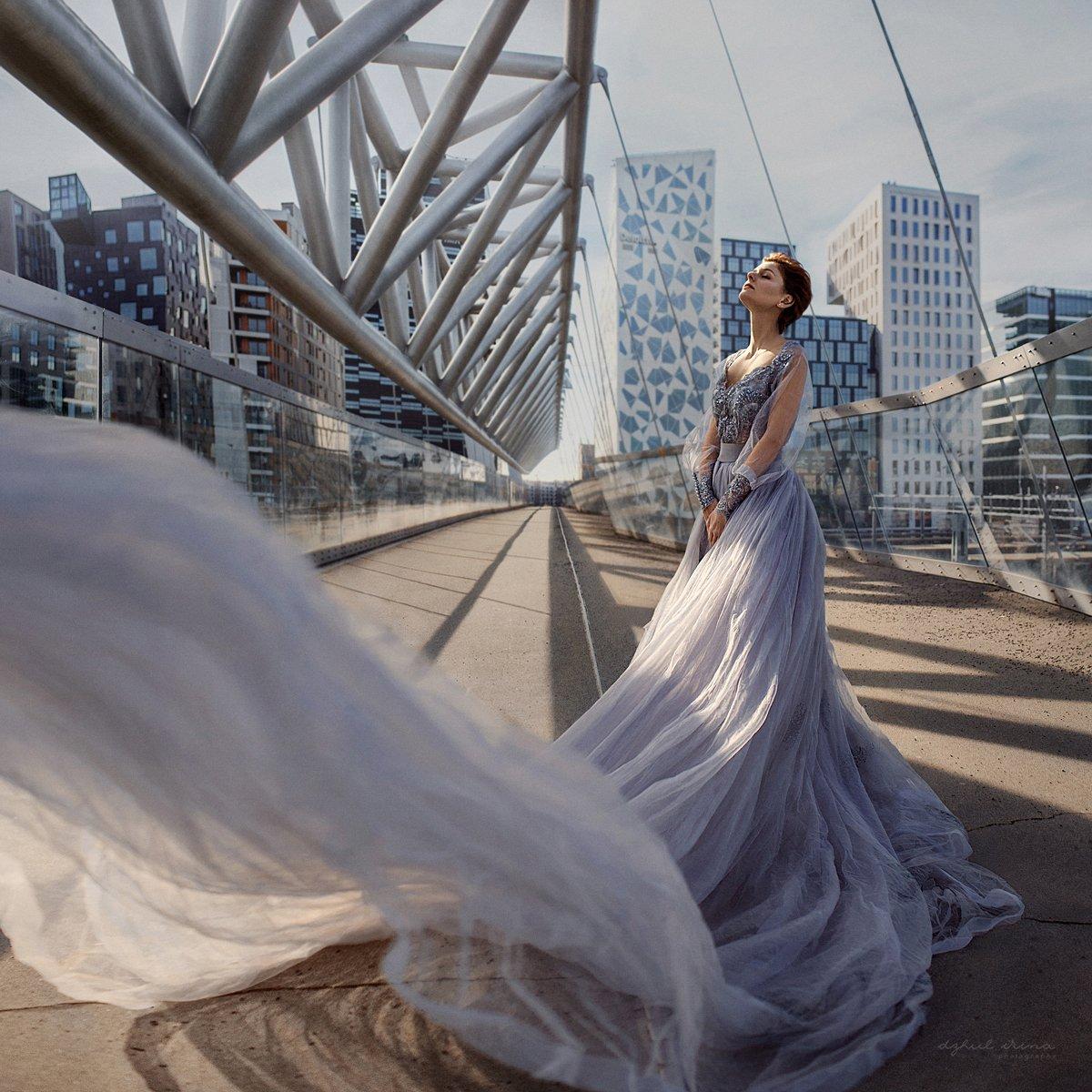 portreite girl people dzhulirina irinadzhul oslo city dress, Ирина Джуль