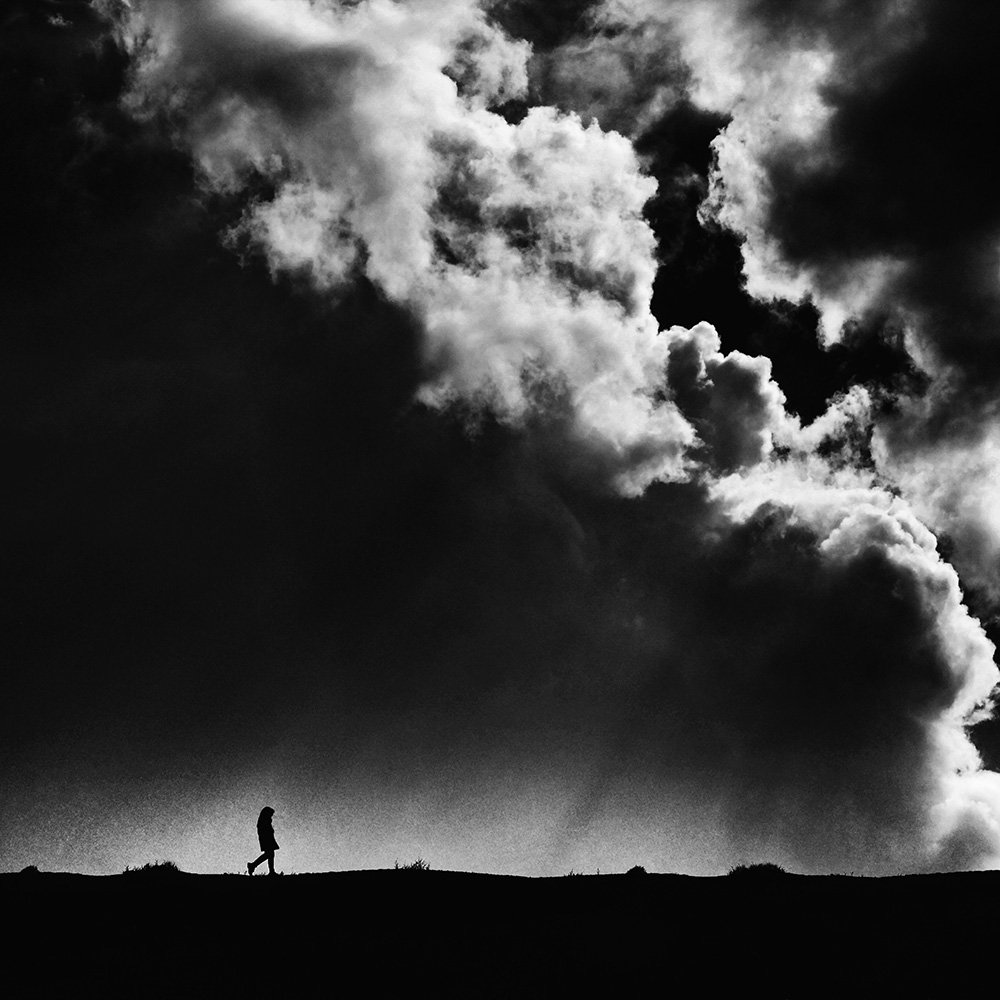 conceptual, fineart, cloud, girl, creative, minimal,, Milad Safabakhsh