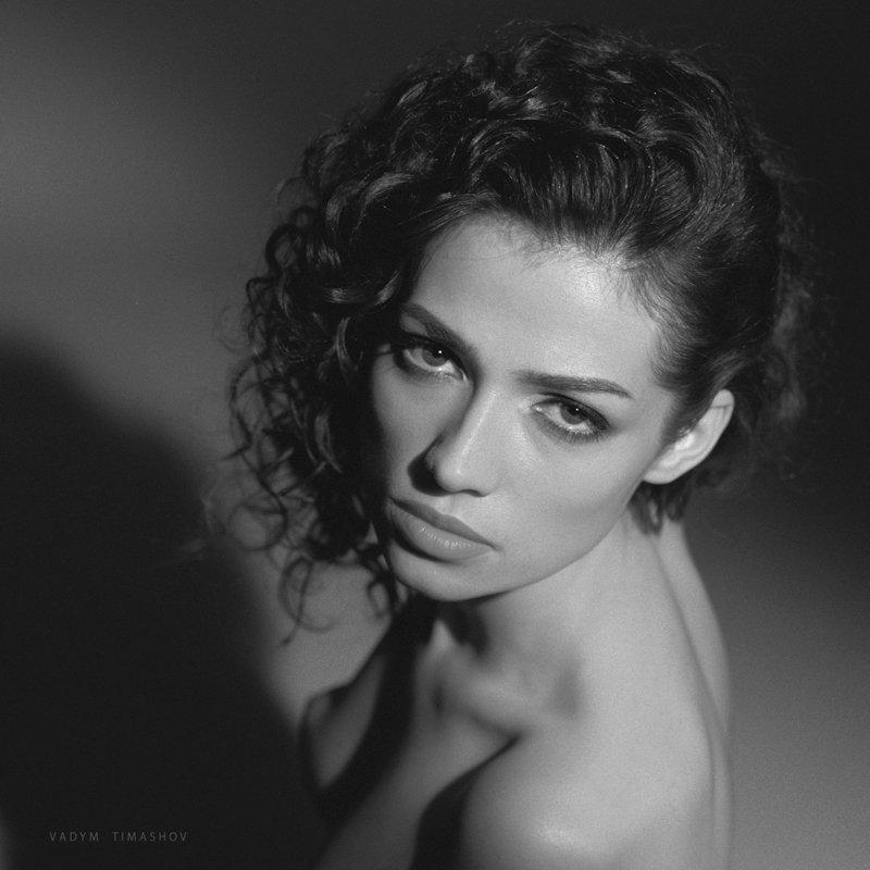 art, beauty, nude, print, portrait, vadym timashov, black and white, eyes, Вадим Тимашов