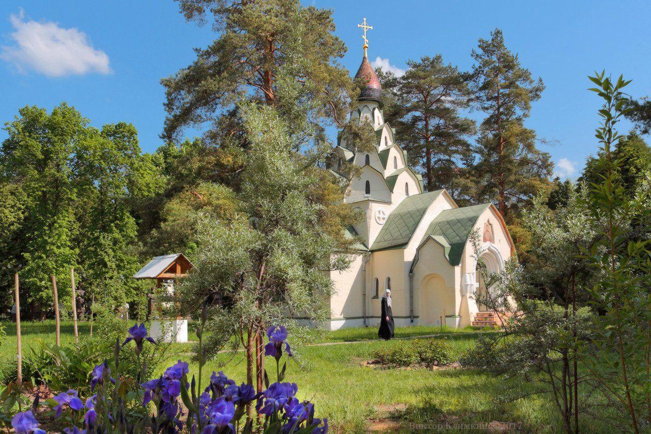 храм, скит, монахиня, «знамение», Виктор Климкин