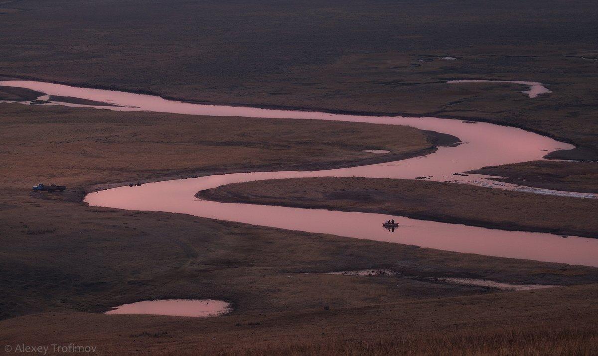 байкал, анга, река, Алексей Трофимов