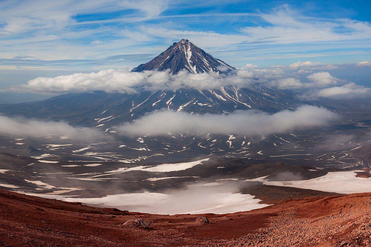 Камчатка, лето, природа, путешествие, вулкан, , Денис Будьков
